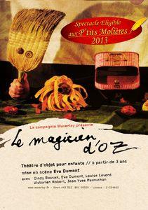 cie waverley - affiche - Magicien d'Oz