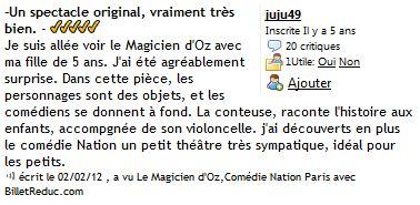 Cie Waverley - Le magicien d Oz - critique 02