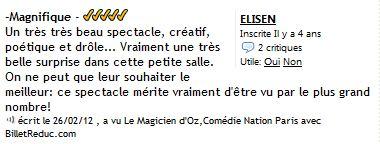 Cie Waverley - Le magicien d Oz - critique 04