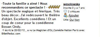 Cie Waverley - Le magicien d Oz - critique 05